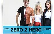 GetGirlsPro pagaidu mājas lapas izveide