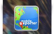 Mobile Reporter - aplikācijas dizains